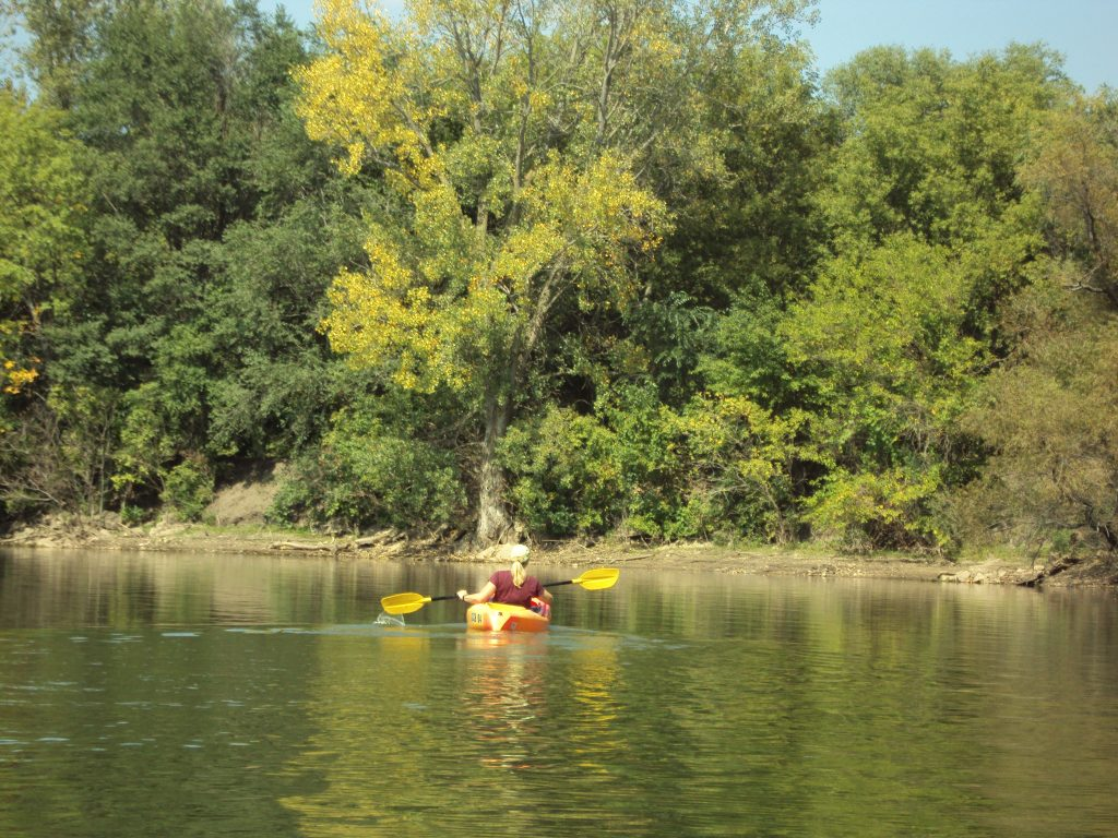 Kayaker at BSRA
